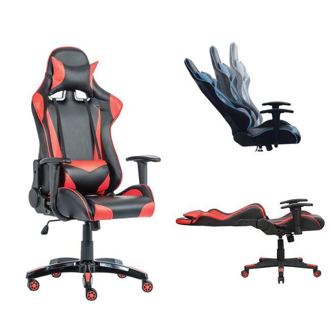 BF8050 Gaming πολυθρόνα διευθυντή Pu Μαύρο/Κόκκινο