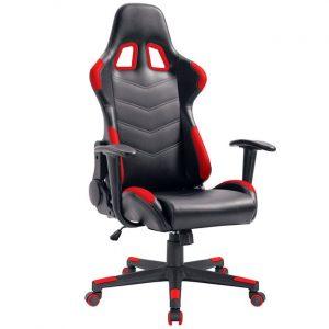 BF9150 Gaming πολυθρόνα διευθυντή Pvc Μαύρο/Κόκκινο